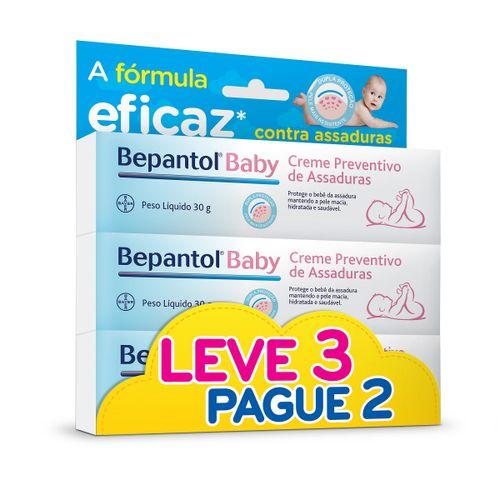 Creme Preentivo De Assaduras Bepantol Baby 30g Preço Especial Leve 3 Pague 2 Unidades