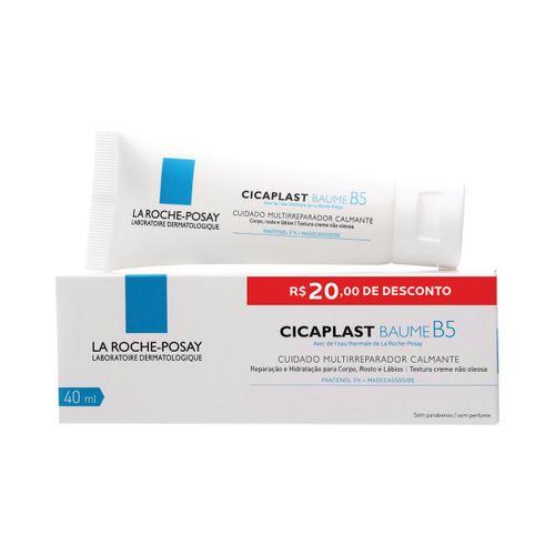 Cicaplast Baume B5 40ml Com R$20,00 De Desconto