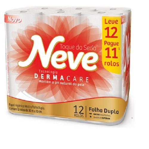 Papel Higienico Neve Toque De Seda Leve12pague11