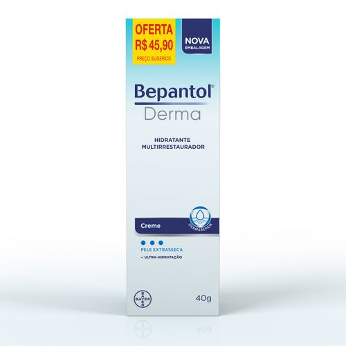 Bepantol Derma Creme 40g Preço Promocional