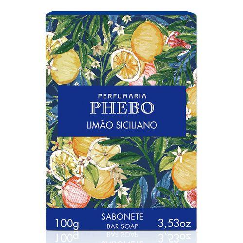 Sabonete em Barra Phebo Origens Limão Siciliano 100g