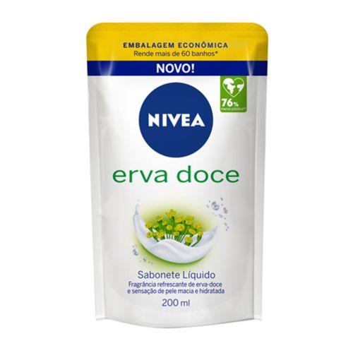 Sabonete Nivea Erva Doce Liquido Refil 200ml