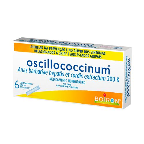 Oscillococcinum 200k Com 6 Doses