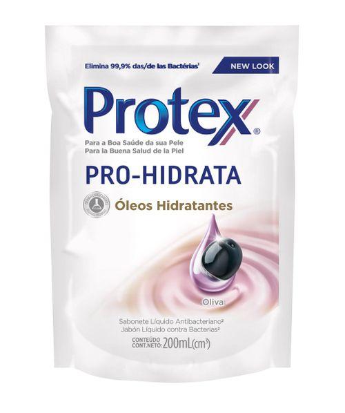 Sabonete Liquido Antibacteriano Protex Pro Hidrata Oliva Refil 200ml