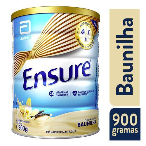 Suplemento Adulto Ensure Pó Sabor Baunilha 900g