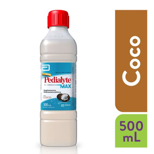 Pedialyte Max Sabor Coco 500ml