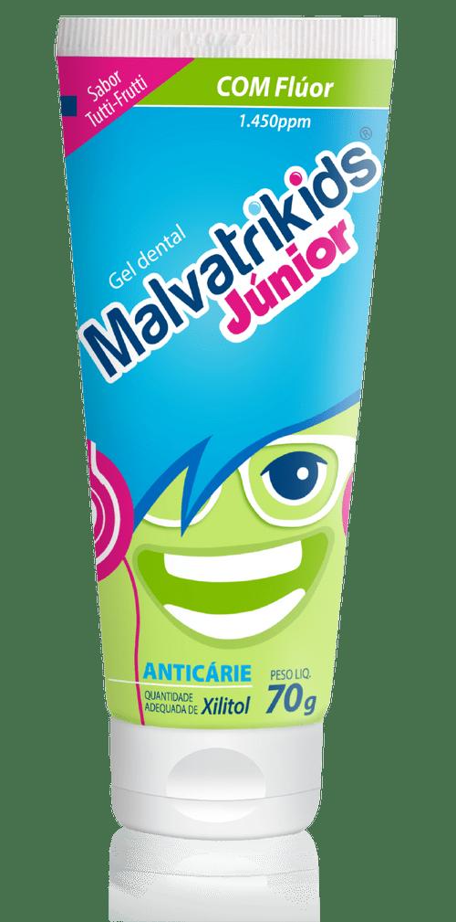 Creme Dental Malvatrikids Júnior Gel 70g