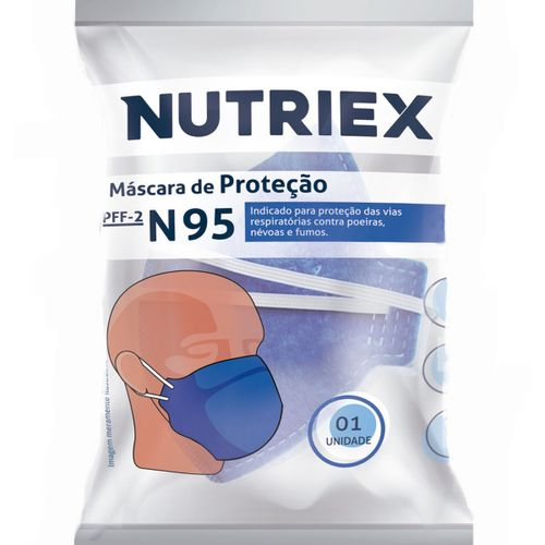 Mascara De Proteção Nutriex N95 Descartável