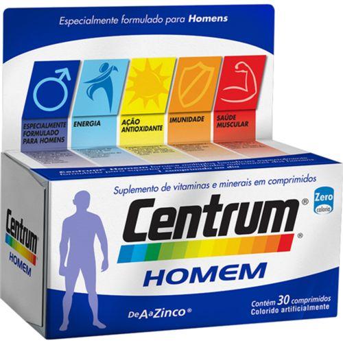Centrum Homem Com 30 Comprimidos