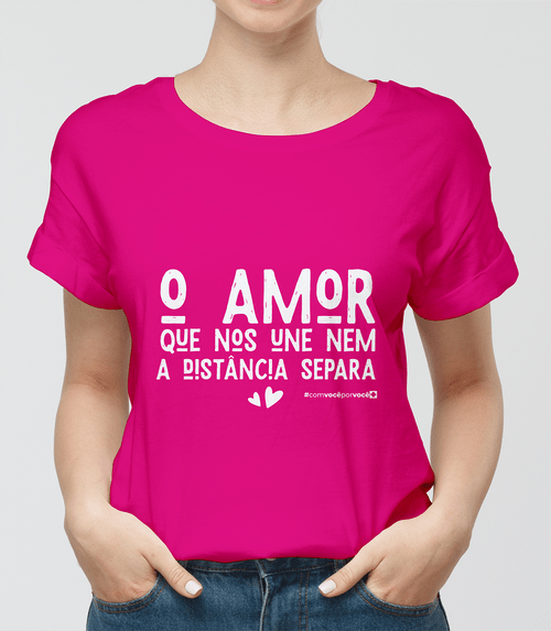 Camisa Amor Que Nos Une Pink G