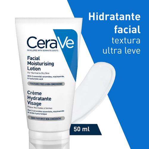 Loção Facial Hidratante Cerave 52ml