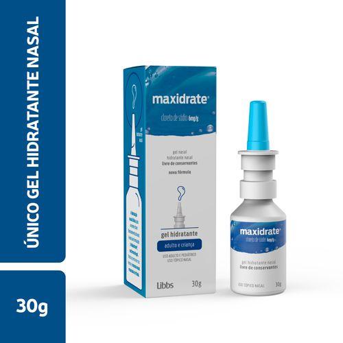 Maxidrate 6mg Nasal Gel 30g