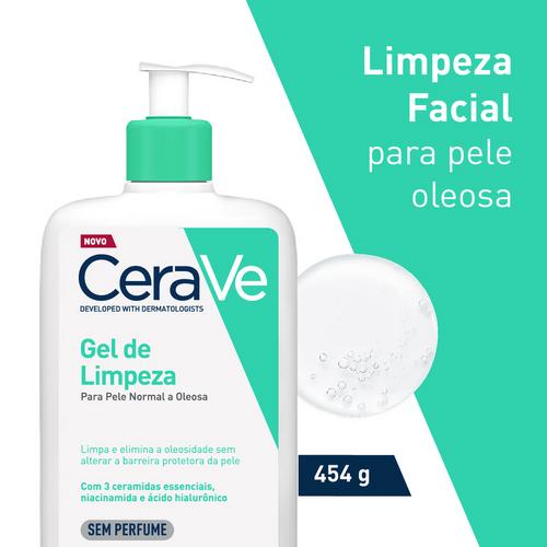 Gel De Limpeza Facial Cerave 454g