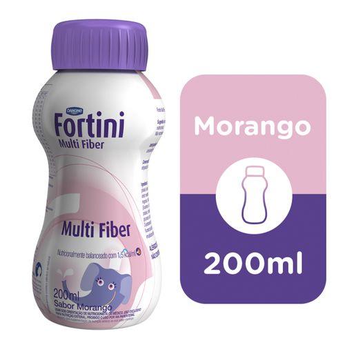 Fortini Multi Fiber Morango 200ml
