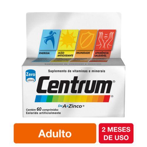 Centrum de A a Zinco  Com 60 Comprimidos