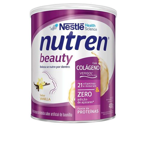 Suplemento Alimentar NUTREN BEAUTY Vanilla 400g