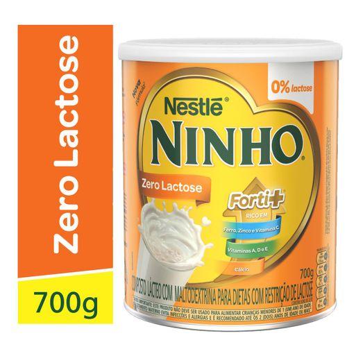 Leite Em Pó Ninho Forti+zero Lactose 700g