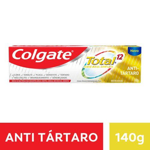 Creme Dental Colgate Total 12 Anti Tartaro 140g