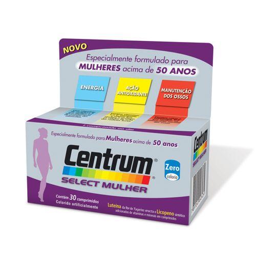 Centrum Mulher Select 50+ Anos - Com 30 Comprimidos