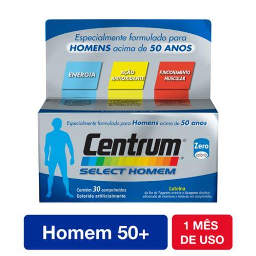 Centrum Homem Select 50+ Anos  Com 30 Comprimidos