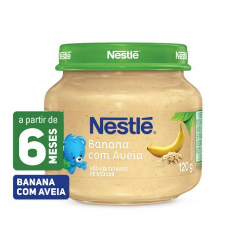 Papinha Nestlé Banana Com Aveia 120g