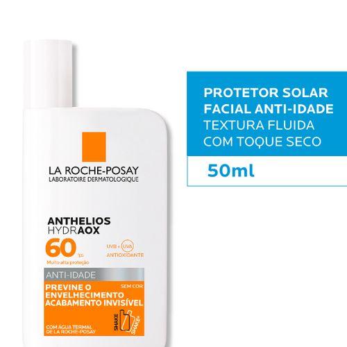 Protetor Solar Facial La Roche-Posay Anthelios Hydraox Sem Cor Fps60 50ml