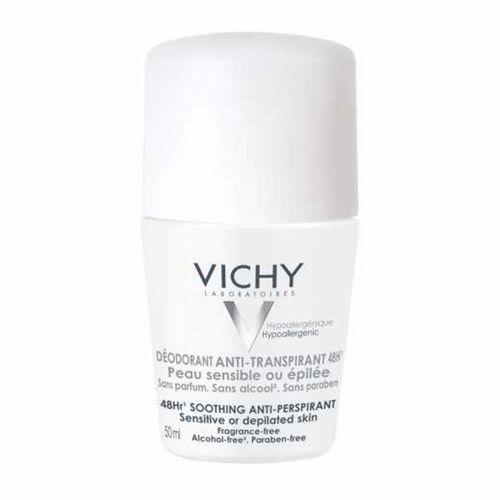 Desodorante Vichy Antitranspirante Pele Sensível 48 Horas 50ml