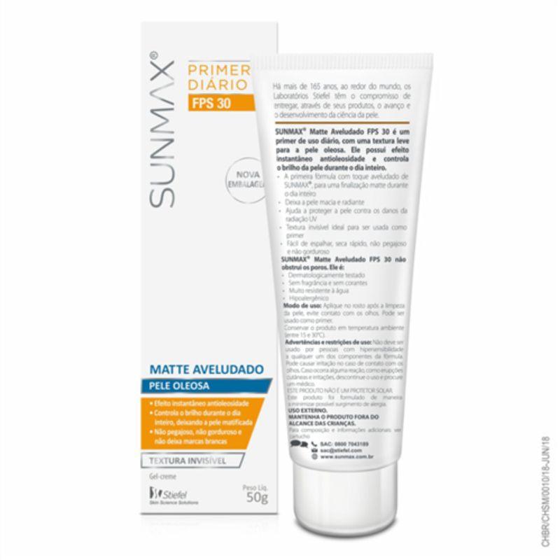 Sunmax-Matte-Aveludado-Primer-Diario-Pele-Oleosa-Fps30-50g-Pague-Menos-49871-4