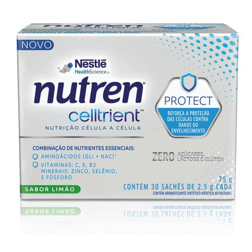 Complemento Nutren® Celltrient™ Protect Limão 75g