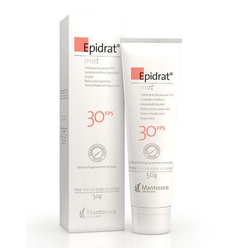 Epidrat MAT FPS 30 Hidratante Facial 50g
