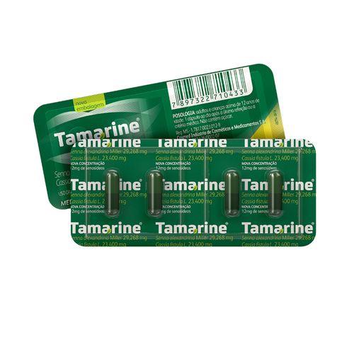 Tamarine 12mg Blister 4 Cápsulas Laxante Fitoterápico