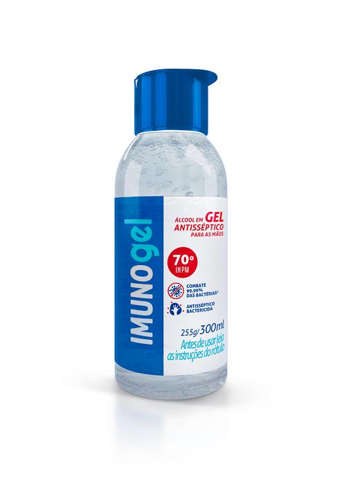 Gel Para Higienização Das Maos Imunogel 300ml