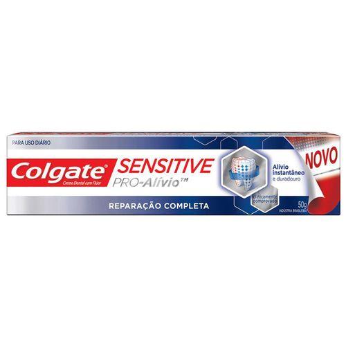 Creme Dental Colgate Sensitive Pró Alívio Reparação Completa 50g