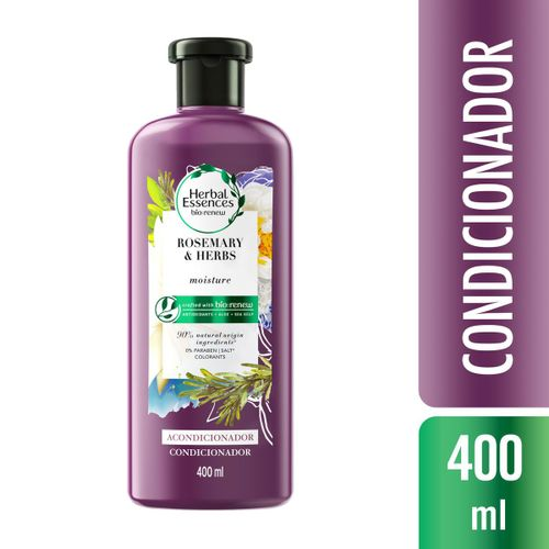 Condicionador Herbal Essences Bio:Renew Alecrim e Ervas 400ml
