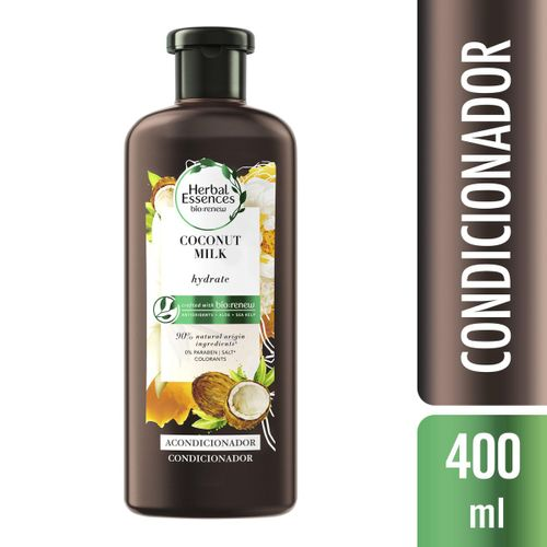 Condicionador Herbal Essences Coconut Milk 400ml