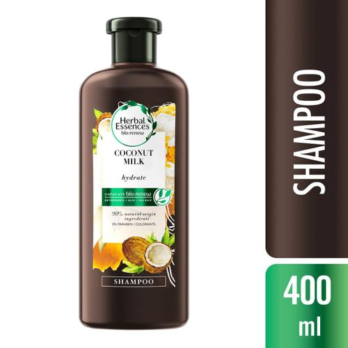 Shampoo Herbal Essences Bio:Renew Leite de Coco 400ml