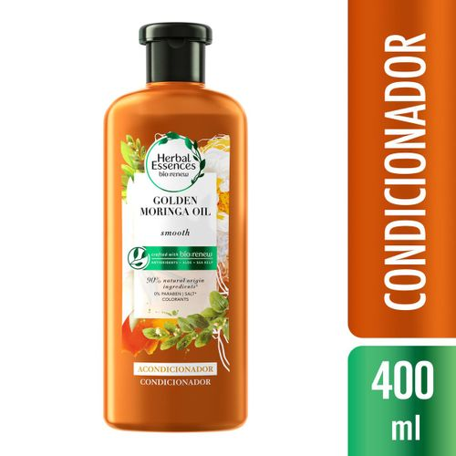 Condicionador Herbal Essences Bio:Renew Golden Óleo de Moringa 400ml