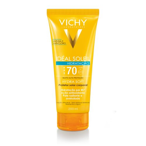 Protetor Solar Corporal Vichy Ideal Soleil Fps70 200ml