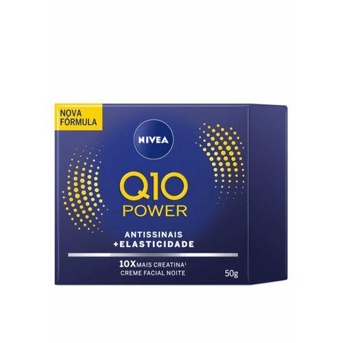Creme Facial Antissinais Noite NIVEA Q10 Plus 50ml