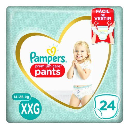 Fralda Pampers Pants Premium Care Tamanho Xxg Com 24 Unidades