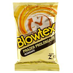 Preservativo Blowtex Retardante Com 3 Unidades