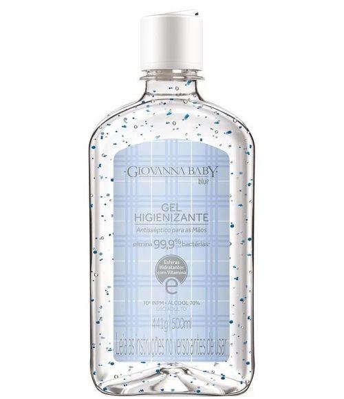 Gel Higienização Para Mãos Giovanna Baby Blue 500ml
