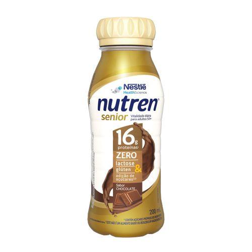 Complemento Alimentar Nutren Senior Rtd Chocolate 200ml