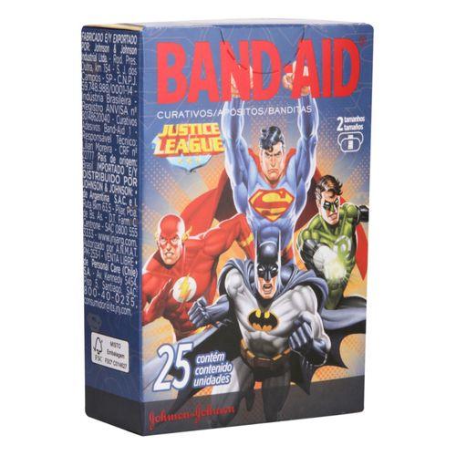 Curativos Band Aid Vingadores 25 Unidades