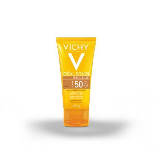 Protetor Solar Facialvichy Ideal Soleil Efeito Base Cor Media Fps50 40g