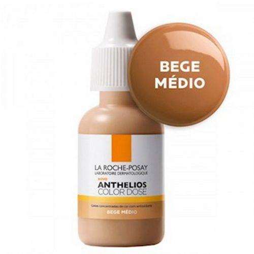 Pigmento Facial La Roche-Posay Anthelios Color Dose Médio Rosado 17ml