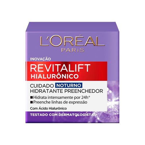 Creme Facial Anti Idade L'oréal Paris Revitalift Noturno