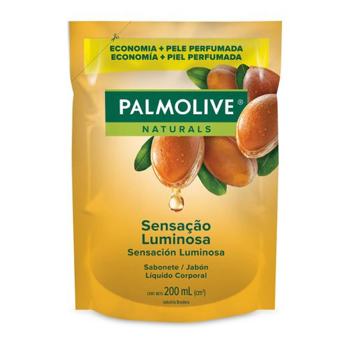Sabonete Líquido Palmolive Naturals Sensação Luminosa Refil 200ml