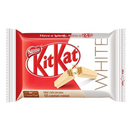 Chocolate Kitkat 4 Fingers White 41,5g