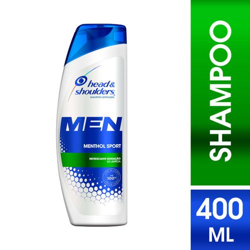 Shampoo Anticaspa Head & Shoulders Men Menthol Sport 400ml